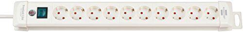 Brennenstuhl Premium-Line Steckdosenleiste 10-fach Steckerleiste mit Schalter