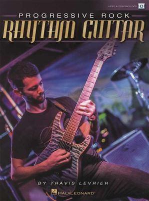 Rational Progressive Rock Rhythm Guitar Tab Music Book With Video Travis Levrier