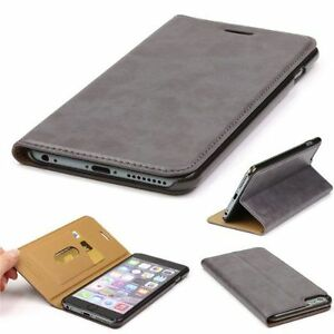 buy popular dbbfd bd8d2 GENUINE HOCO IPHONE 6S PLUS 6 PLUS LUXURY REAL LEATHER FLIP FOLDER ...