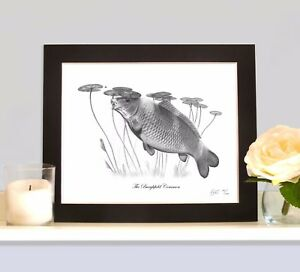 THE-BURGHFIELD-COMMON-As-Seen-on-the-Cover-of-The-Carp-Legends-Calendar-MOUNTED