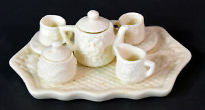 8-piece-Miniature-Doll-House-Accesories-White-PorcelainTea-Set-Teapot-Toys