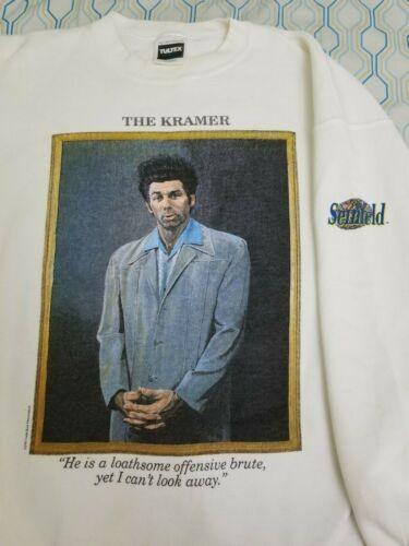 Seinfeld Rare vintage Larry David Pocket Shirt XL Vintage 90s T