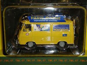 Voiture 1/43e Atlas TOUR DE FRANCE Norev Peugeot J7 Paris-Rhone Caravane 1969
