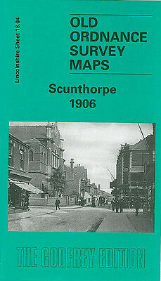 OLD ORDNANCE SURVEY MAP SCUNTHORPE 1906 MANLEY STREET FRODINGHAM CROSBY