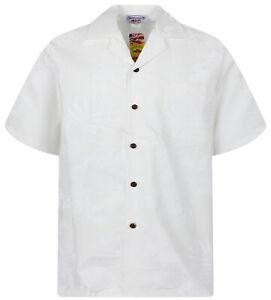 Bianco Hawaiana Original Shadow Ombra Pla Camicia 8wERxnX