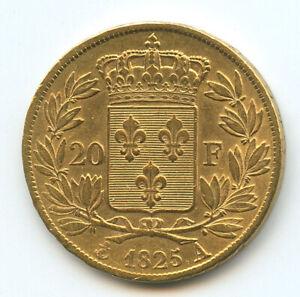 Charles-X-1824-1830-20-Francs-or-1825-A-Paris