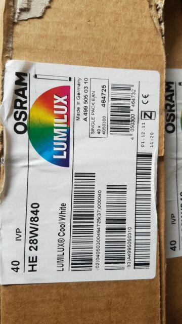 Osram 35 Watt Lumilux T5 High Efficiency Fluorescent Tube Lamps