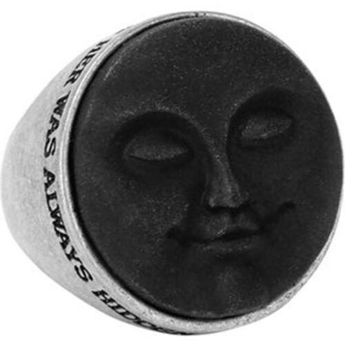 Killstar gótica GOTH ocultismo Wiccan ring-Dreaming Moon luna resina