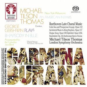 Michael Tilson Thomas - Carmina Burana  [SACD Hybrid Multi-channel] - 2CDLX7369