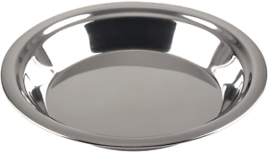 Lindy-039-s-Stainless-Steel-9-inch-pie-pan-Silver