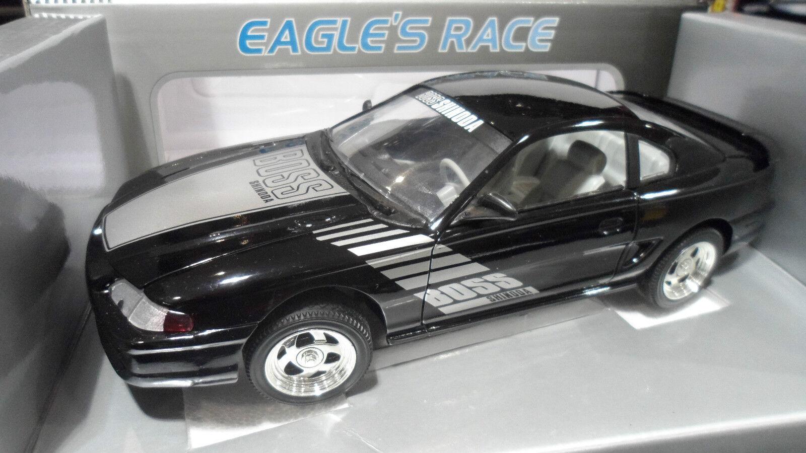 FORD MUSTANG SHINODA BOSS Coupé nero au 1 18 UNIVERSAL UNIVERSAL UNIVERSAL HOBBIES voiture miniature b32652