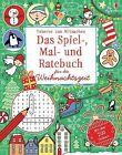Das Spiel-, Mal- und Ratebuch für die Weihnachtszeit von Rebecca Gilpin, James Maclaine und Lucy Bowman (2013, Taschenbuch)