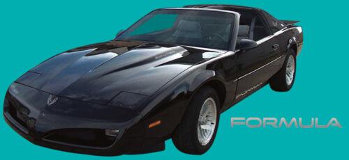91-92 Firebird Formula 350 Decal Kit Silver Metallic