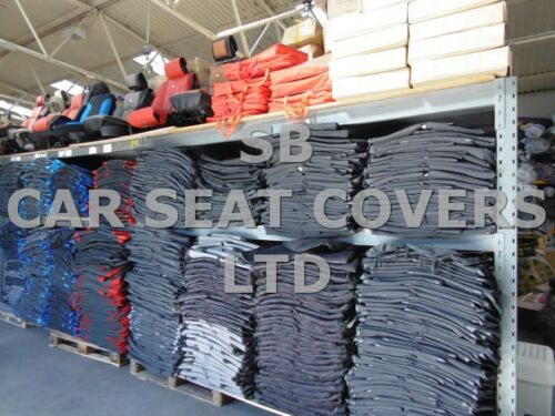 62 SPEC TO FIT A NISSAN CABSTAR VAN SEAT COVERS 161 FABRIC // LEATHERETTE