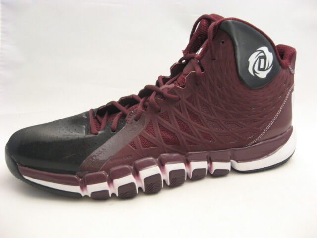 buy popular b3fa1 bc507 adidas D Rose 773 II Basketball Shoes Size 17 Maroon Burgundy Limited  Ediition