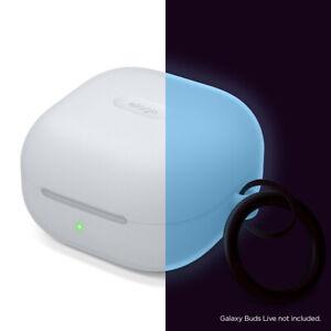 Galaxy Buds 2 Case / Galaxy Buds Pro Case -elago Silicone Case [NightglowBlue]