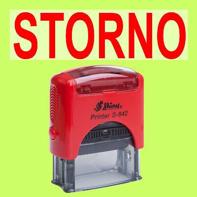 Papier, Büro- & Schreibwaren Shiny Printer Rot S-842 Büro Stempel Kissen Rot Rational Storno