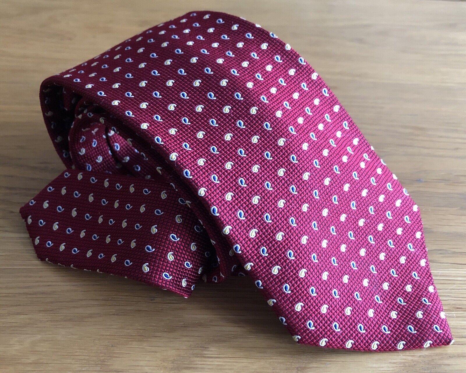 LAUREN by Ralph Lauren Krawatte Classic Tie Herren 100% Seide Silk Hand Made