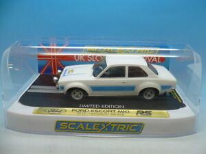 Scalextric C4011fs Ford Escort Mk1 Rs 50 Années 1968-2018 Edition Limitée De 100