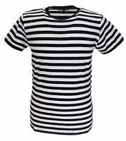 Mens Retro Mod 60s Indie Black & White Cotton T Shirt …
