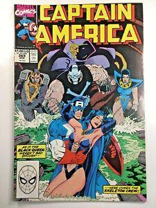 Captain-America-Vol-1-369-Comic-Book-1990-Marvel-Avengers-Black-Queen-Skeleton
