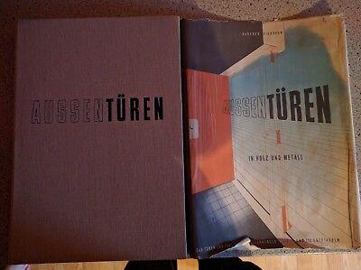Außentüren In Holz Und Metall-fachbuch Für Handwerker Und Architekten 1953 Waren Jeder Beschreibung Sind VerfüGbar Literatur