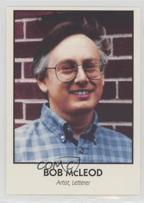 Non-sport Trading Cards 1992 Eclipse Famous Comic Book Creators 10 Bob Mcleod Rookie Non-sports Card 0w6