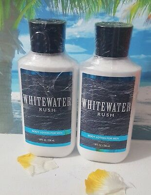 bath and body works whitewater rush body lotion for men