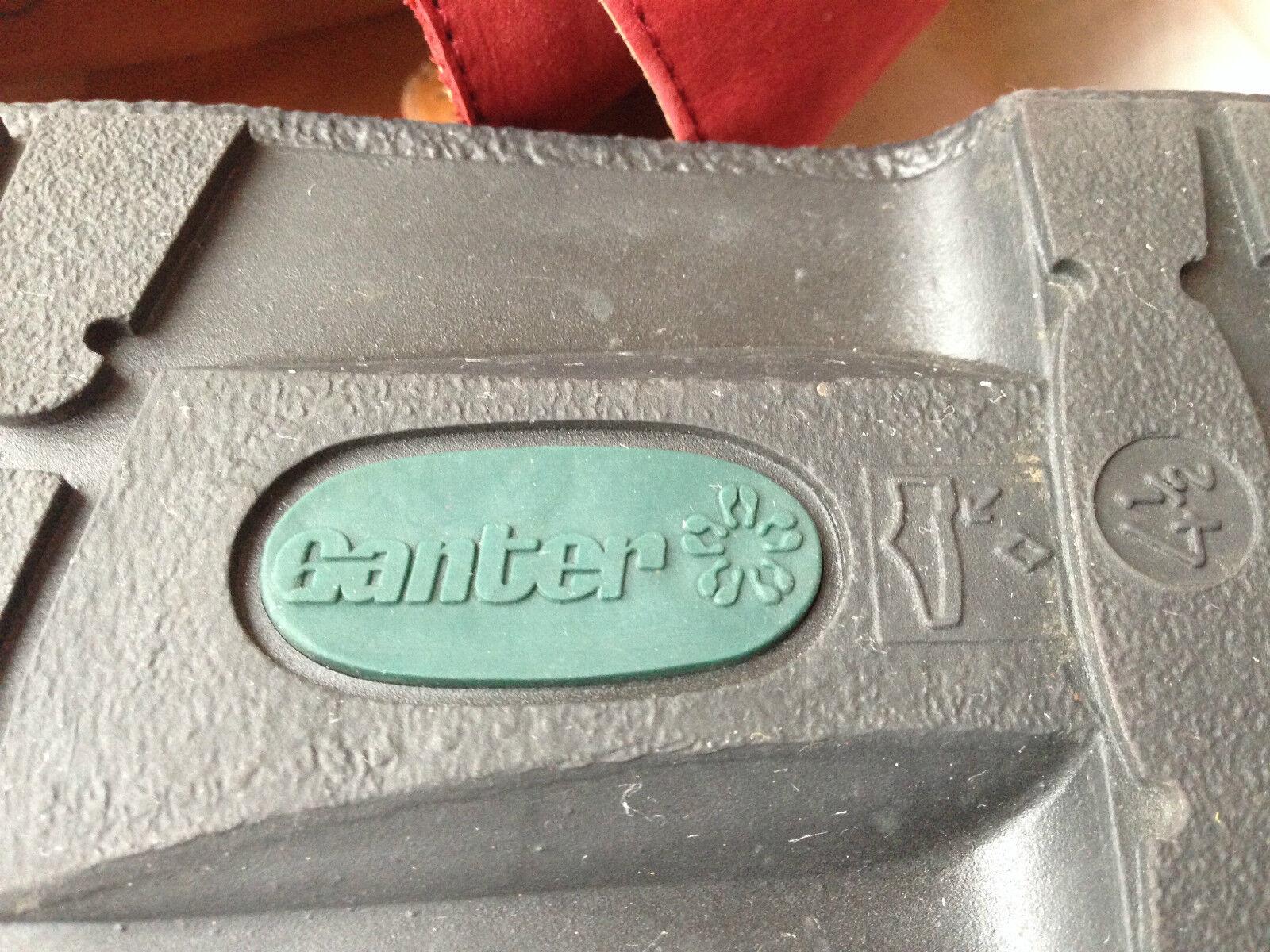 Ganter Donna Originale Vario Comfort 37.5 in Camoscio Rosso Tg EU 37.5 Comfort 446339