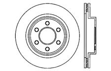 Disc Brake Rotor-High Performance Drilled And Slotted fits 03-06 Dodge Viper