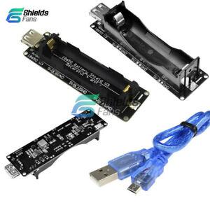 ESP32-ESP-32-LED-Micro-USB-Wemos-18650-Battery-Shield-V3-3V-5V-With-Cable