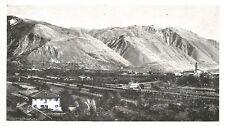 D0618 Il Monte Grappa visto da Bassano - Stampa antica del 1928 - Old Print