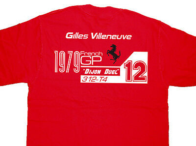 ALL OPTIONS Rene Arnoux F1 Grand Prix RS10 Turbo T-shirt T Shirt Dijon