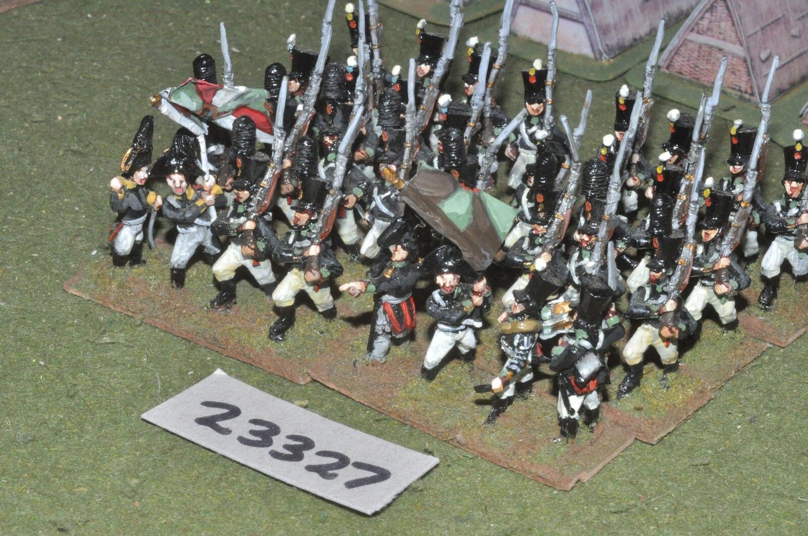 25mm napoleonic   russian - line 32 figures - inf (23327)