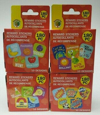 Teacher Reward Stickers 3//4 inch Motivational Labels for Kids Classroom Adults