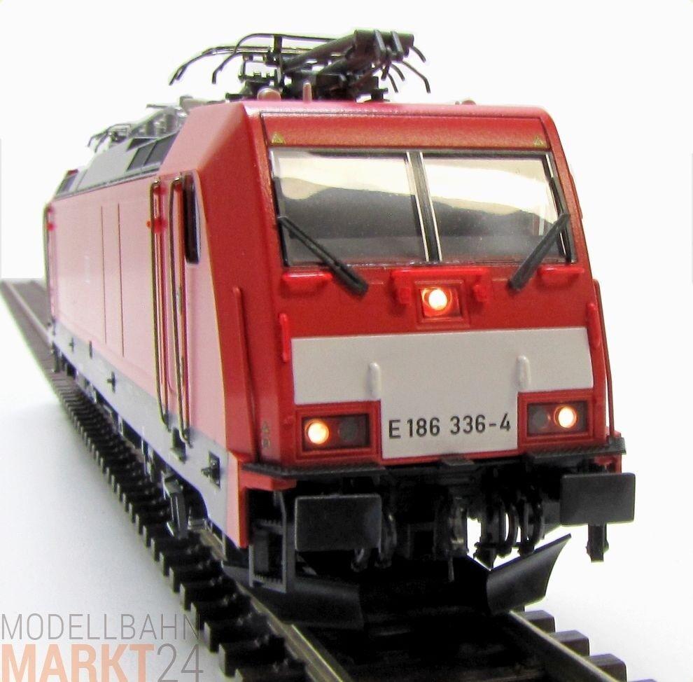 ROCO 76350 Elektrolok BR 186 in red DB Ep. VI NEM KK DSS Spur H0 - OVP