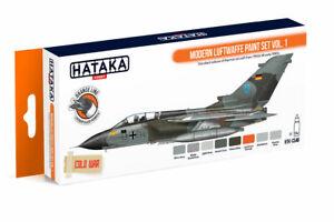 Hataka-CS48-8-Pieces-Moderne-Armee-de-L-039-Air-Paint-Jeu-Vol-1-18-38-100ml