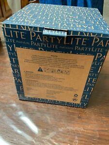 Partylite : porte bougie carré doré P92779
