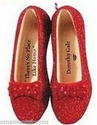 Hallmark 2009 Ruby Slippers Wizard of Oz Limited Edition Ornament