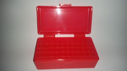 357 BUY 5 GET 1 FREE RED 50 Round 38 BERRY/'S PLASTIC AMMO BOX