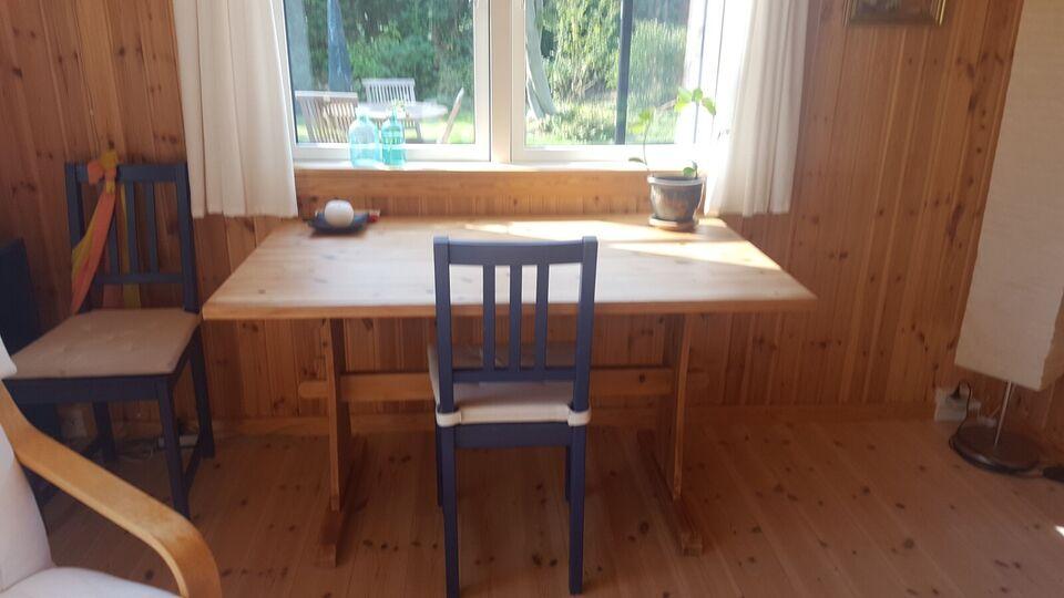 Spisebord, Massivt fyrretræ, Dansk snedkerarbejde