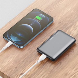 Power Bank 10000mAh QC PD 3.0 Fast Charging USB Mini External Battery Charger Fo