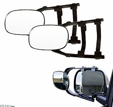 Pair Clip On Trailer Towing Side Mirror Extender Extension Truck Suv RV