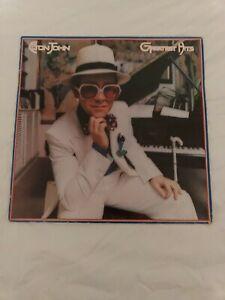 Elton-John-Greatest-Hits-Vinyl-LP-1974-TESTED