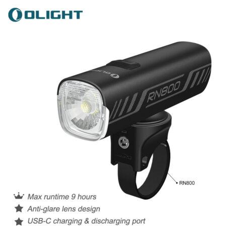 OLIGHT RN800 Bike Bicycle Light 800 Lumens LED Bike Front Light Waterproof IPX6