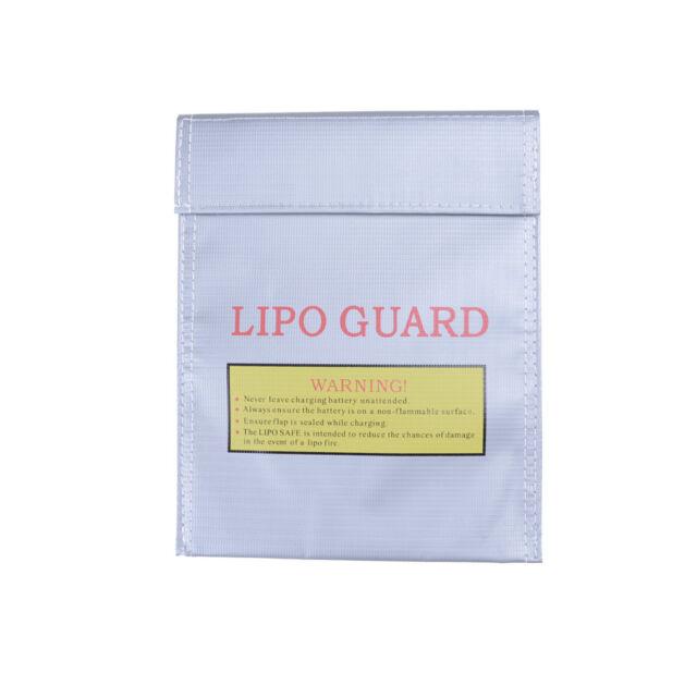 Fireproof RC LiPo Battery Safety Bag Safe Guard Charge Bag Sack 180 X 230 mm KC