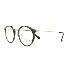 61cfe8091ab Image is loading Ray-Ban-Glasses-Frames-7097-2012-Havana-Gold
