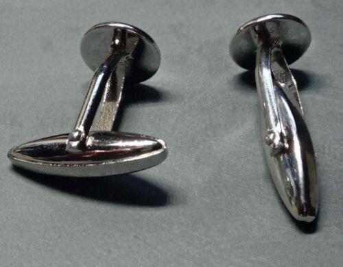 10mm pad 1 Pair 925 Sterling Silver Cufflink Blank High quality