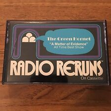 "Radio ReRuns On Cassette Tape #46 ""Suspense The Green Hornet"" 1977"