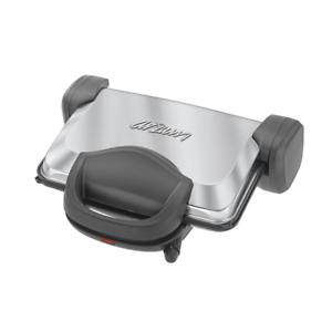 Arzum-Edelstahl-Toaster-Toast-maschine-Kontaktgrill-Sandwichmaker-1800W-Silber